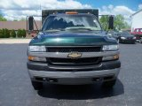 Forest Green Metallic Chevrolet Silverado 3500 in 2002