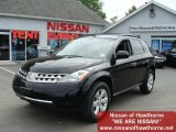2007 Super Black Nissan Murano S AWD #30214316