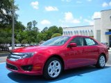 2010 Red Candy Metallic Ford Fusion SE #30213827