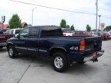 2002 Indigo Blue Metallic Chevrolet Silverado 1500 LS Extended Cab 4x4 #30214030