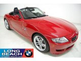 2008 Imola Red BMW M Roadster #30214032