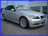 2007 Titanium Silver Metallic BMW 3 Series 335i Sedan #30214043