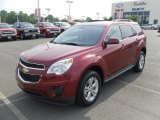 2010 Cardinal Red Metallic Chevrolet Equinox LT #30214392
