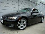 2007 Jet Black BMW 3 Series 328xi Coupe #30213711