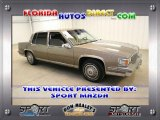 Cadillac DeVille 1986 Data, Info and Specs