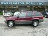 2002 Dark Garnet Red Pearlcoat Jeep Grand Cherokee Laredo 4x4 #30214106