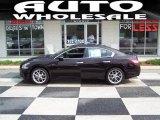 2010 Crimson Black Nissan Maxima 3.5 SV #30214178