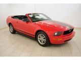 2005 Torch Red Ford Mustang V6 Premium Convertible #30281389