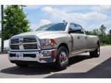 2010 Light Graystone Pearl Dodge Ram 3500 Laramie Crew Cab Dually #30281083