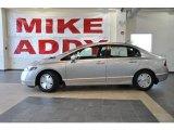 2007 Alabaster Silver Metallic Honda Civic Hybrid Sedan #30281086