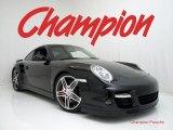 2007 Black Porsche 911 Turbo Coupe #30280821