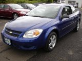 2007 Laser Blue Metallic Chevrolet Cobalt LS Coupe #30280958