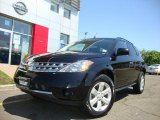 2007 Super Black Nissan Murano S AWD #30281189