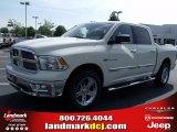 2010 Stone White Dodge Ram 1500 Big Horn Crew Cab #30280996
