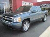 2008 Blue Granite Metallic Chevrolet Silverado 1500 LT Extended Cab #30281240