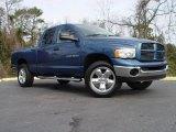 2004 Atlantic Blue Pearl Dodge Ram 1500 SLT Quad Cab 4x4 #3011779