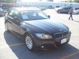 2009 Jet Black BMW 3 Series 328xi Sedan #30281306