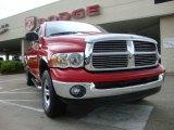 2004 Flame Red Dodge Ram 1500 Laramie Quad Cab 4x4 #30281332