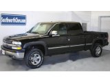 2002 Onyx Black Chevrolet Silverado 1500 LT Crew Cab 4x4 #30281343