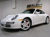 2008 Carrara White Porsche 911 Carrera S Coupe #30330535