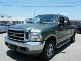 2004 Estate Green Metallic Ford F250 Super Duty King Ranch Crew Cab 4x4 #30330541