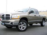 2006 Light Khaki Metallic Dodge Ram 1500 Big Horn Edition Quad Cab 4x4 #2974414