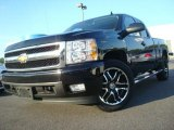 2007 Black Chevrolet Silverado 1500 LTZ Extended Cab 4x4 #30330555