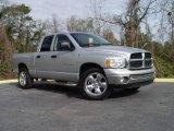 2005 Bright Silver Metallic Dodge Ram 1500 Laramie Quad Cab #3011778