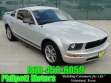 2005 Satin Silver Metallic Ford Mustang V6 Premium Coupe #30330641