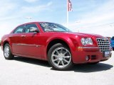 2008 Inferno Red Crystal Pearl Chrysler 300 C HEMI AWD #30330466