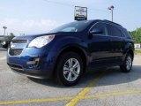 2010 Navy Blue Metallic Chevrolet Equinox LT #30330657