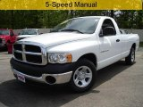 2003 Bright White Dodge Ram 1500 ST Regular Cab #30330523