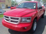 2010 Flame Red Dodge Dakota Big Horn Extended Cab #30367440