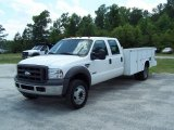 2005 Ford F550 Super Duty XL Crew Cab Chassis Utility Data, Info and Specs
