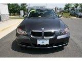 2007 Sparkling Graphite Metallic BMW 3 Series 328i Sedan #30367302