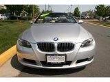 2007 Titanium Silver Metallic BMW 3 Series 328i Convertible #30367303