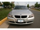 2007 Titanium Silver Metallic BMW 3 Series 328xi Sedan #30367307