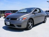2007 Galaxy Gray Metallic Honda Civic LX Coupe #30367938