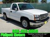 2005 Summit White Chevrolet Silverado 1500 Regular Cab #30367615