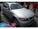 2007 Titanium Silver Metallic BMW 3 Series 328i Sedan #30367630