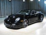 2008 Black Porsche 911 Turbo Cabriolet #3036764