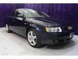 2004 Moro Blue Pearl Effect Audi A4 1.8T quattro Sedan #30367638