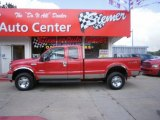 2005 Red Ford F350 Super Duty Lariat SuperCab 4x4 #30367649