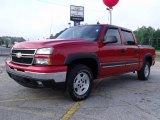 2006 Victory Red Chevrolet Silverado 1500 Z71 Crew Cab 4x4 #30367654