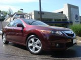 2009 Basque Red Pearl Acura TSX Sedan #30367514