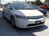 2007 Taffeta White Honda Civic EX Sedan #30368020