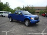 2010 Blue Flame Metallic Ford F150 STX SuperCab 4x4 #30367521