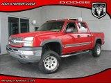 2005 Victory Red Chevrolet Silverado 1500 Z71 Crew Cab 4x4 #30367387