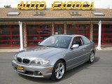 2004 Silver Grey Metallic BMW 3 Series 325i Coupe #30368036