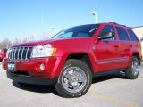 2006 Inferno Red Crystal Pearl Jeep Grand Cherokee Limited 4x4 #2974330